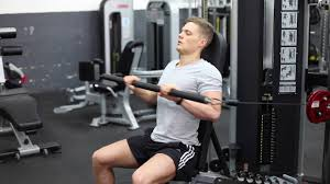 Seated Bench Press Seated Cable Narrow Grip Bench Press Youtube