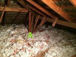 what does old attic insulation look like quora