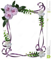 wedding invitation background free download wedding invitation border lavender roses royalty free stock photo