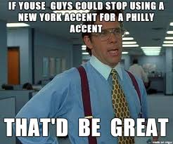 Meme Philadelphia - every time i watch a movie based in philadelphia meme guy