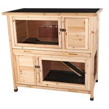 Rabbit Hutch Diy Premium Backyard Rabbit Hutch 01533 The Home Depot