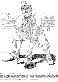 Jackie Robinson Clipart 26 Jackie Robinson Coloring Page