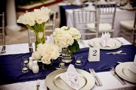 blue and silver wedding navy blue and silver wedding decorations wedding party decoration