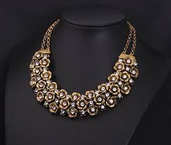 ethnic necklace design images New design brand vintage ethnic multilayer flower choker necklaces jpg
