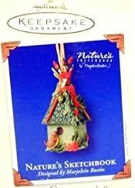 hallmark nature s sketchbook collectible ornament