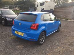 volkswagen hatchback 2015 used volkswagen polo 1 0 se design 5dr for sale in gloucester