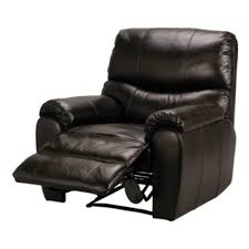 Black Leather Recliner Fabian Leather Recliner Chair Black Furnico