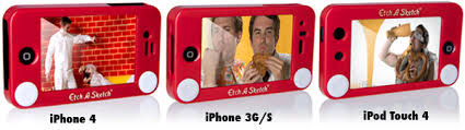 etch a sketch cases for the iphone and ipod