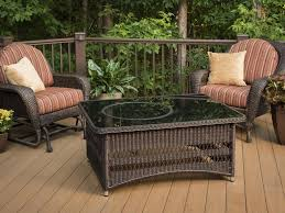 Black Wicker Patio Furniture - best wicker coffee table ideas home design by john