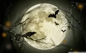 halloween moon wallpaper