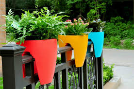 pot plants for balconies 28 cute interior and balcony pots and