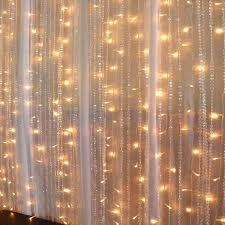 Heat Repellent Curtains Curtain Lights Bedroom Living Room Led Curtain Lights Festive
