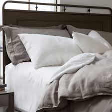 washed linen bedding collection home beds decoration