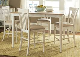 Counter Height Dining Room Furniture Bluff Cove Gathering Counter Height Table 5 Piece Dining Set In
