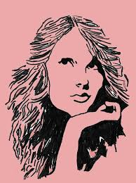 taylor swift pop art pink hope mcdonald drawings