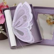 wedding invitation designs unique 2016 design 3d butterfly