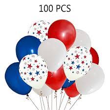 patriotic decorations patriotic decorations balloons blue white