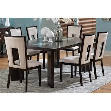 overstock dining room sets domino keyhole side chair set of 2 overstock com shopping
