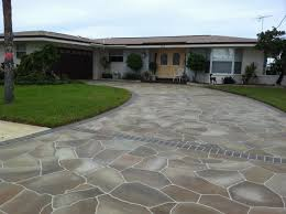 Sealing A Flagstone Patio by Concrete Designs Florida Concrete Decorating