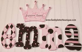 the funky letter boutique hand painted letters and decor for the