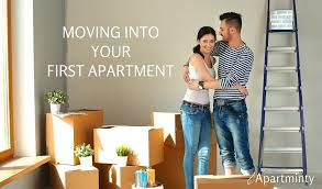 first appartment moving into your first apartment apartminty