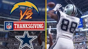 nfl on thanksgiving 11 23 2017 dallas cowboys vs los angeles