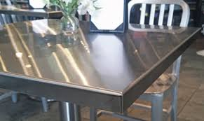 stainless steel table top cover stainless steel table tops with wrapped edges and welded corners