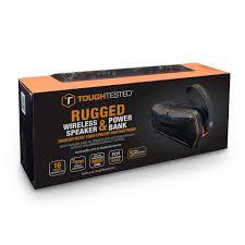 Rugged Wireless Speaker Tough Tested Tt Sp4000 Rugged Waterproof Bluetooth Wireless