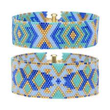 bracelet kit images Odd count peyote duo bracelets athena exclusive beadaholique jpg