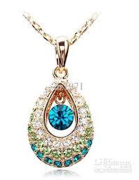 new jewelry 2018 new jewelry teardrop necklace angel ideal