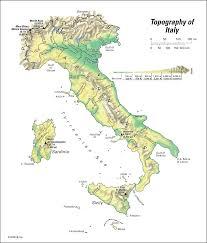 Italian Map Italy Land Students Britannica Kids Homework Help