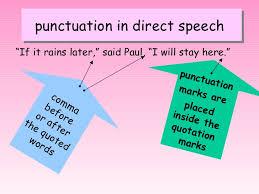 direct and indirect speech p4k u0026 p4c