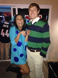 Halloween Costume Boo Monsters Inc Couple Costume Homemade And Easy Blues Clues And Steve
