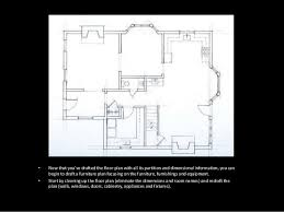 how to create a floor plan in powerpoint basic drafting week 11 powerpoint drafting the house furniture plan