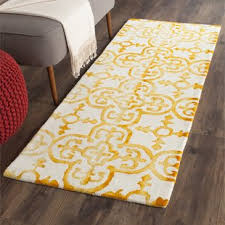Yellow Area Rugs Yellow Gold Area Rugs Birch