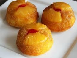 pineapple upside down cupcakes recipe dessert tray muffin