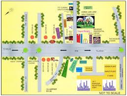 location map legend heights at gurgaon innovative