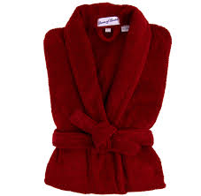 dressing gown tom and harry bown men s burgundy terry dressing gown