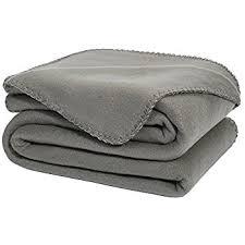 soft oversized fleece throw blanket gray ultra