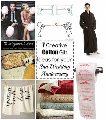 cotton gift ideas 7 creative cotton gift ideas for your 2nd wedding anniversary