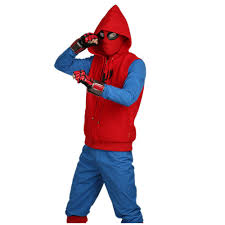 2017 spiderman homecoming homemade suit cosplay costume u2013 xcoser
