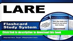 read book lare flashcard study system lare test practice