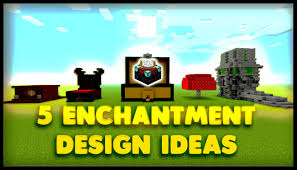 5 enchantment table designs and ideas minecraft 9000 special