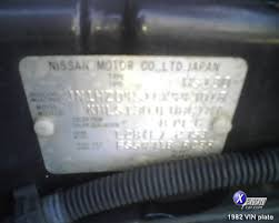 xenonzcar com s130 vin number and model plate information and the