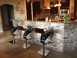 tile under kitchen bar arizona tile 3d stacked stone under bar