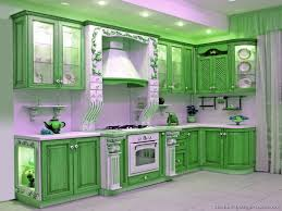 furniture green two tone kitchen cabinets with recessed ceiling