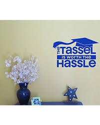 graduation vinyl sweet deal on wall decor plus more wdpm3453 the tassel is worth