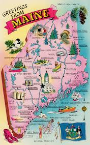 Map Of Portland Fun Map Of The State Of Maine We Are Located In Madison Near