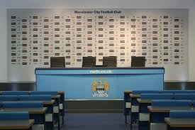 Football Conference Table Press Conference Room Picture Of Etihad Stadium Manchester