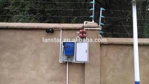 residential electric fence installation